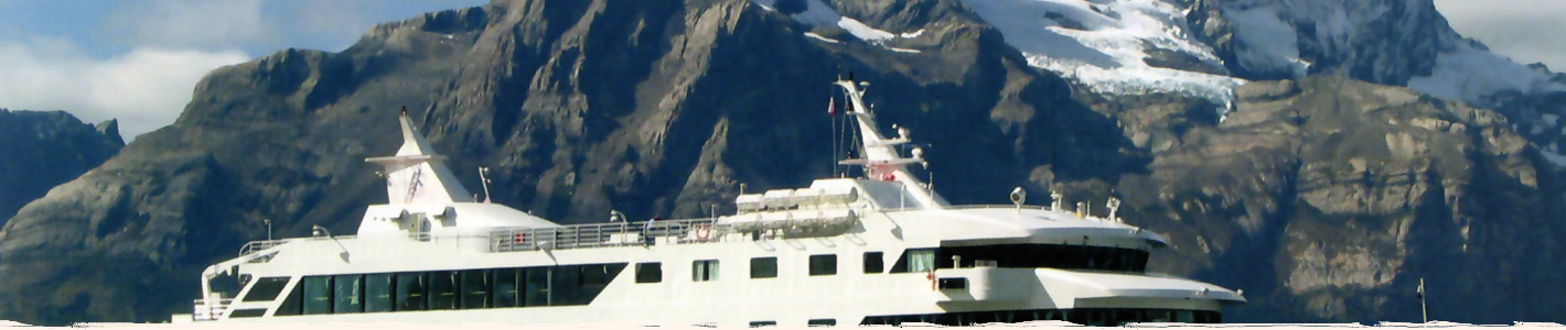 Cruise in Patagonia in Chile