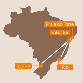Brazil Holiday Map