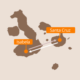 Galapagos Diving Map