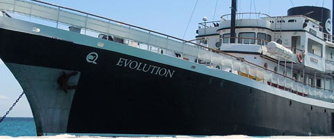 Galapagos Cruise on the Evolution