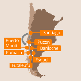 South America Road Trip Map