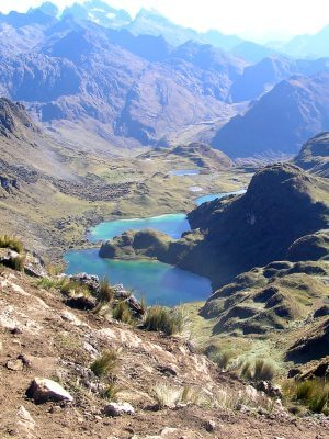 Lares hike: also known as the Weavers Way